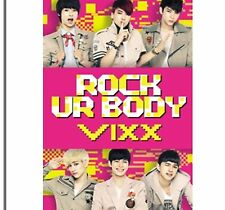 K-POP VIXX 2nd Single Album [Rock Ur Body] CD Sealed Music CD