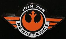 Disney Exclusive 2015 Star Wars The Force Awakens Movie Join the Resistance Pin