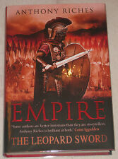 ANTHONY RICHES - EMPIRE - THE LEOPARD SWORD - SIGNED/LINED/DATED 1/1