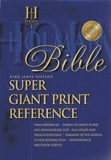 HOLMAN KING JAMES VERSION REFERENCE BIBLE - NEW PAPERBACK BOOK