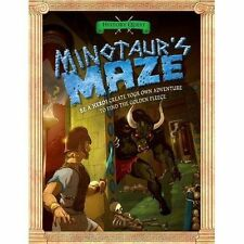 History Quest Adventure MINOTAUR'S MAZE by TIMOTHY KNAPMAN ~ Be a hero!