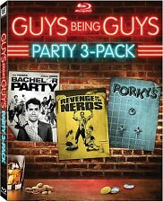 Guys Being Guys Party 3-Pack (Bachelor Party / Revenge of the Nerds / Porky's)