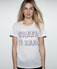ZOE KARSSEN Creep It Real t-shirt tee top goth gothic halloween celeb asos S NWT