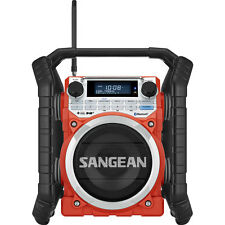 Sangean Digital DAB+ / FM-RDS / Bluetooth / Aux Ultra Rugged Tradies Radio U4DBT