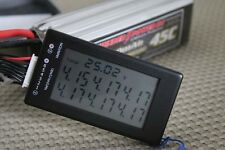 LCD LIPO BATTERY MONITOR CHARGE TESTER 2-6 CELLS NEW US SELLER