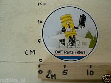 STICKER,DECAL DAF PARTS FILTERS A