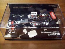 1/43 Mclaren 2006 Mp4/21 mercecedes Pedro De La Rosa 2006 Test Driver