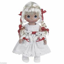 "Precious Moments Pocket Pals Blonde 12"" Doll #4711"
