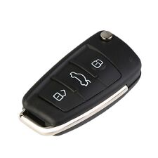 3 Button Replacement Key Fob Case Flip Blade Fits For Audi A3 A4 A6 Q7 TT SY