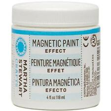 Martha Stewart Crafts Magnetic Paint (4-Ounce), 32196 New