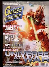 tgm 230 the GAMES MACHINE-desert law-blacksite-culpa innata-painkiller:overdose