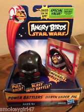 Star Wars Angry Birds Power Battlers Darth Vader Pig NIB