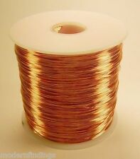 WHOLESALE COPPER SOLID BARE WIRE 14 GA 5 LB. 400 FEET JEWELRY,CRAFT  MADE IN USA