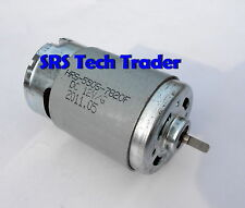 RS-550S HIGH TORQUE 12V DC MOTOR