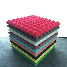 Acoustic Foam Insulation Tile Studio Sound Proof Isolation Square Panel 50cm New