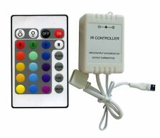 24 Keys IR Remote Controller for RGB LED Strips 5730 / 5630 / 5050 / 3528 Type