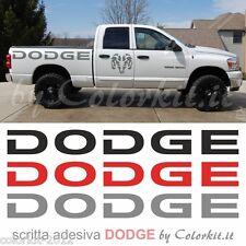 Scritta adesiva DODGE cm.118x14 - by Colorkit Cod.001195