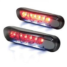Mini LED Fanale Posteriore Fanale Posteriore Universale fumè Luce targa Moto