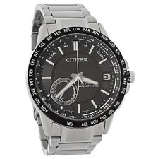 New Citizen Men's Satellite Wave Eco-Drive Watch CC3005-85E