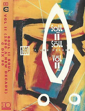 Soul II Soul ‎Vol. II (1990 - A New Decade) CASSETTE ALBUM Downtempo, Jazzdance