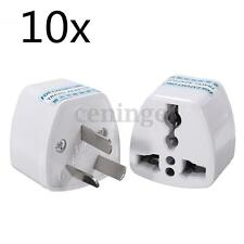 10x UK/US/EU to AU AC Power Plug Travel Adapter Converter Australia Universal