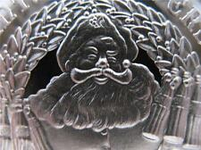 1975 RARE CHRISTMAS SANTA'S HELPERS 6 PACK COKE ROUND PURE SILVER.999 + GOLD