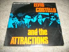 """ELVIS COSTELLO & ATTRACTIONS- I CANT STAND UP FOR FALLING VINYL 7"""" 45RPM P/S"""