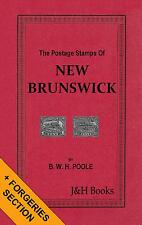 THE POSTAGE STAMPS OF NEW BRUNSWICK Canada Forgeries Reprints Bisects - CD