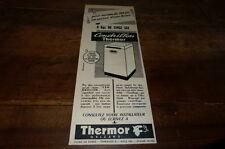 THERMOR ORLEANS - CENDRILLON - Publicité de presse / Press advert !!! 1956