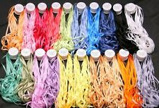 NEW 200M of 4MM PURE SILK EMBROIDERY RIBBON 20 COLORS