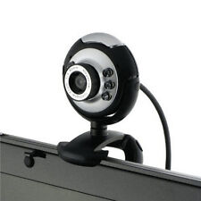 USB 12MP 6LED Camera Web Cam with Mic Night Vision for Desktop/PC/Laptop Skype P
