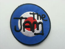 PUNK ROCK HEAVY METAL MUSIC SEW ON / IRON PATCH:- THE JAM (a) TARGET