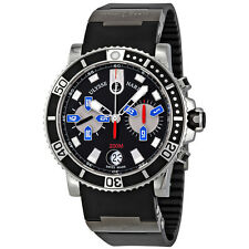 Ulysse Nardin Maxi Marine Automatic Chronograph Mens Watch 8003-102-3-92