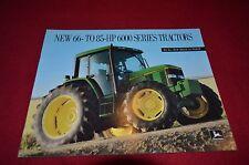 John Deere 6200 6300 6400 Tractor Dealer's Brochure DCPA