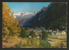 AD8361 Aosta - Provincia - Gressoney St. Jean - Panorama autunnale
