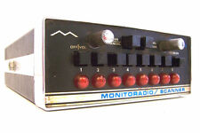 REGENCY MONITORADIO TMR-8 SCANNER 8 CHANNELS CRYSTALS 120V w/POWER CORD Vtg