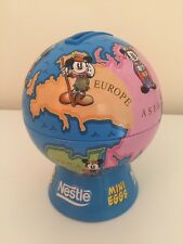 Nestle Mini Eggs Mickey Mouse Disney Globe Money Box Tin World Piggy Bank Easter