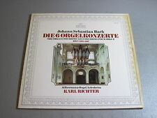 Bach-The Organ Concertos-Karl Richter-LP 1974 Archiv Made in Germany NM