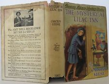 Nancy Drew: The Mystery at Lilac Inn 4 by Carolyn Keene(1930, Hardcover) 1ST ED