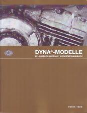 HARLEY-DAVIDSON Werkstatthandbuch 2016 FXD Dyna-Modelle DEUTSCH Buch 99481-16DE