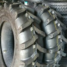 (2-TIRES) 12.4x28,12.4-28  10 PLY Tractor Tires W/Tubes 12428 FREE SHIPPING