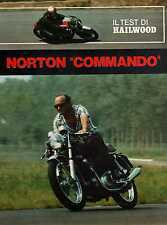 Z15 Clipping-Ritaglio 1973 Il test Mike Haiwood... Norton Commando