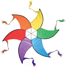 Large Rainbow Spinner - Garden Decoration or Kite Tail