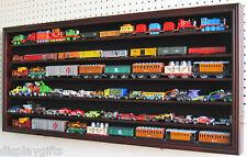 Diecast Toy Car, HO RR Train, Hot Wheels Display Case Wall Cabinet, HW05-MA