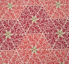 Impressions Spring 2012 Abbey Ty Pennington BTY Wine Coral Green Damask Paisley