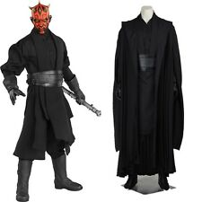 New Star Wars Jedi Knight Darth Maul Cosplay Costume Full Set