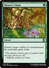 NATURE'S CLAIM Eternal Masters MTG Green Instant Com