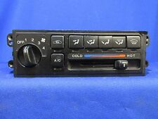 99 00 01 02 INFINITI G20 FRONT MANUAL HEATER A/C CONTROL (BLACK) R615