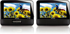 "Philips PD9012 Portable DVD Player 9"" LCD Dual Screen"