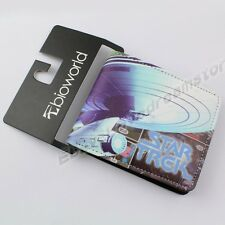 Movie Film Star Trek NCC-1701 Pocket PU Synthetic Leather Purse/Wallet Loose